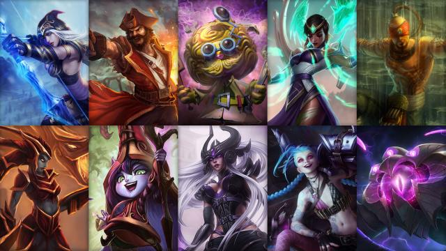LoL Champion Rotation Season 4 Woche 9